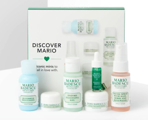 MARIO BADESCU Discover Mario Mini Sampler Set - Gel Spray Serum Eye Cream Mask