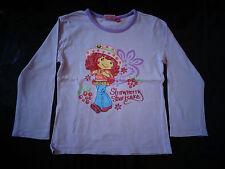 Tee-shirt manches longues 6 ans Charlotte aux fraises TBE