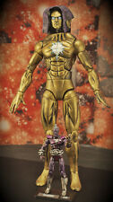 Commission For Marvel Universe CUSTOM LIVING TRIBUNAL and MAGUS figures