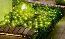 Vendita netta 160 LED bianco caldo Scintillanti Luci Decorazione Natalizia Luce Batteria