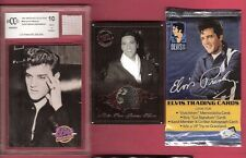 ELVIS PRESLEY EVENT WORN UNDERWEAR RELIC & GRADED 10 CARD + WORN KIMONO + PACK