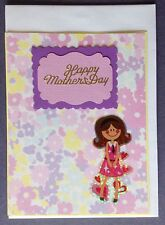 1 Hand made card - Happy Mother's Day. Postage $2 for 1 to 6 cards