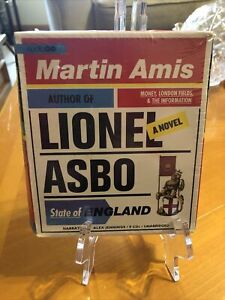 Lionel Asbo by Martin Amis 2012 Unabridged 9-CD Set Factory Sealed - Read