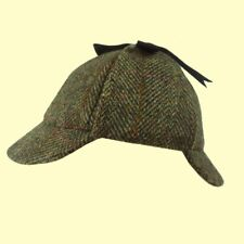 Failsworth Harris Tweed Deerstalker Hat Sherlock Holmes Hat Shooting S to XL