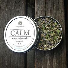 CALM Legal, Organic, Herbal Smoking Blended Tea • Smoke | Sip | Soak