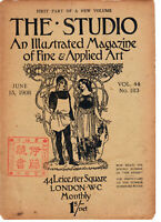 The Studio An Illustrated Magazine of Fine & Appl. Art Vol 69 No 284 Nov15 1916