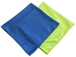 """48 Microfiber 16""""x16"""" Glass Cloths Cleaning/Auto Detailing, PRO GRADE, USA"""