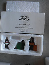 Department 56 Amish Family Figurine Set 5948-0 Nib