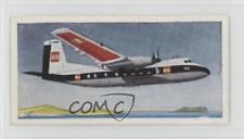 1961 Lyons Tea Wings Across the World Base #6 Handley Page Herald Card 4az