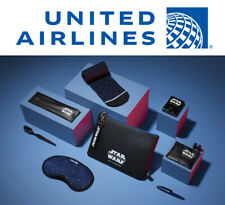 New STAR WARS United Airlines POLARIS First Class TRAVEL CASE BAG AMENITY KIT