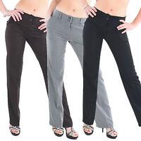 H1 Elegante und Sexy Hüft Hose Damen Stoffhose Business Hose Hüfthose Classic