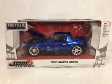 Mazda Miata 1990 Candy Blue JDM Tuners 1:24 Scale Jada 30942