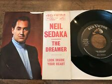 Neil Sedaka The Dreamer / look inside your heart 45 With Picture Sleeve