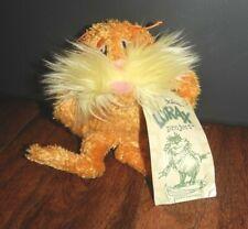 "Manhattan Toy Company Dr. Seuss The Lorax Yellow 6"" Plush w/ Tag"