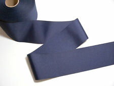 Offray Navy Blue Grosgrain Ribbon 3 inches wide x 3 yards, Wide Navy Ribbon