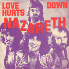 "NAZARETH ‎– Love Hurts (1974 SINGLE 7"" DUTCH SWIRL VERTIGO LABEL)"