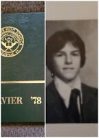 Tom Cruise High School Yearbook 1978 Mint