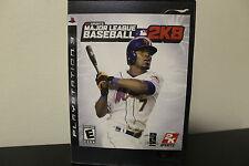 Major League Baseball 2K8  (Sony Playstation 3, 2008) *Tested