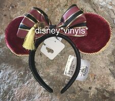 *NEW Disney Parks HOLLYWOOD Tower Hotel Of TERROR Minnie Ears Headband Loungefly