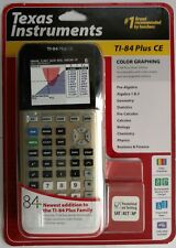 Texas Instruments Ti-84 Plus Ce Color Graphing Calculator Gold Ti84 Brand New