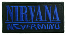 "NIRVANA Embroidered Iron On Patch Badge 4""x2"""