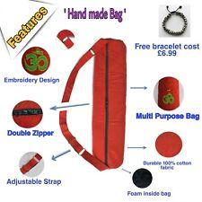 Yoga Mat Bag, Yoga Bag, Yoga Mat Carry Bag, Handmade Embroidery Yoga Bag