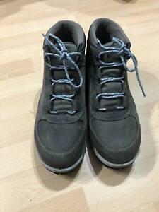 Ecco Oregon Hydromax Brown Tarmac Men's Outdoor Hiking Boots Size UK 8 EU 42