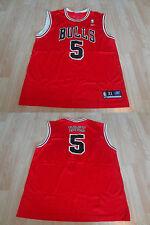 Men's Chicago Bulls Jalen Rose XL Jersey Reebok (Red) Jersey