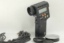 【MINT】Minolta Digital Spot Meter F w/ Close-up lens,Sync cable From Japan #323