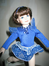 STUNNING ICE SKATER DOLL Dreams Come True Collection of GEORGETOWN COLLECTION.