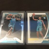 Panini Prizm And Absolute Pj Washington Jr Hornets 2020 RC Base Lot