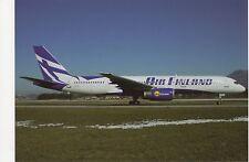 Air Finland Boeing B757-28A Aviation Postcard, B008
