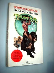 Tarzan of the Apes by Edgar Rice Burroughs 1990 Lord Greystoke