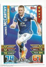 2015 / 2016 EPL Match Attax Base Card (101) James McCARTHY Everton