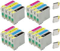 20 INKS FOR EPSON C64 C66 C84 C86 CX3600 CX3650  CX4600 CX6400 CX6600