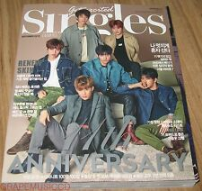 SINGLES INFINITE KOREA ISSUE MAGAZINE 2015 SEP SEPTEMBER NEW