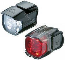 Topeak Race Combo Set Pair Front & Rear LED Light Lights MTB Bicycle Bike Cycle