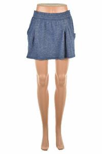 Victoria Secret  Women Skirts Casual XS Blue Cotton