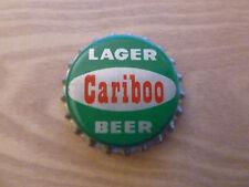 One vintage unused Cariboo Lager cork-lined beer bottle cap.