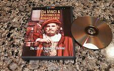 DA VINCI & MYSTERIES OF THE RENAISSANCE PART I DVD! LIFE OF LEONARDO DA VINCI!!!