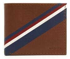 Tommy Hilfiger Men's Leather Credit Card Wallet Bifold 31TL130012 TAN - New