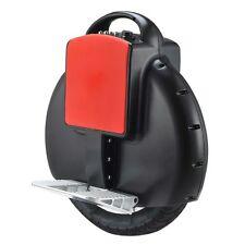 Black one wheel smart self balancing electric unicycle
