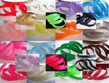 "50 yard Solid Grosgrain 3/8"" Ribbon 9mm/polyester/Craft/hot GR38-03 Medium Pink"