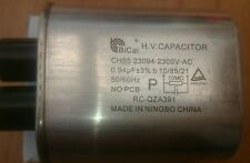 Sharp R24-at 1900w hv capacitor commercial microwave industrial rc-qza391wrzz