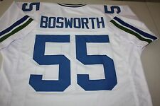 "BRIAN BOSWORTH #55 LB SEWN STITCHED AWAY ROAD THROWBACK JERSEY SIZE LARGE ""BOZ"""