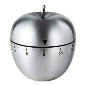 Kitchen Timer Count Down Alarm Kitchen Manual Alarm Counters Stainless Steel