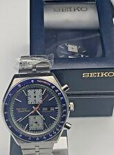 RARE VINTAGE SEIKO 6138-0030 Speedtimer JAPAN CRONOGRAFO AUTOMATICO IN SCATOLA