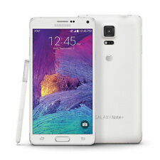 "White 5.7"" Samsung Galaxy Note4 N910A Unlocked Smart Phone 32GB 4G LTE 16MP"