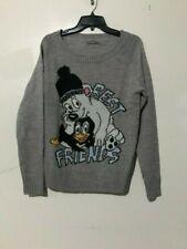 Terranova Size M Best Friend Design Hugs Gray Sweater Women Stylish