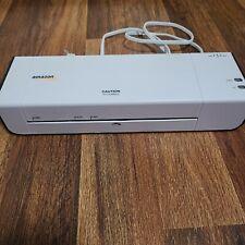 Amazonbasics 9 Inch Wide Thermal Laminator Machine White Works Great